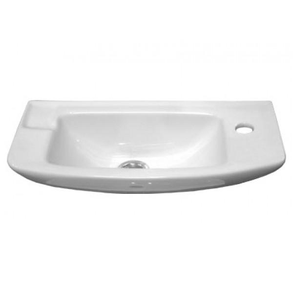 Раковина Vidima СЕВА ФРЕШ (BOX) (Seva Fresh) W449461, подвесная, белая, 50*23,5 см