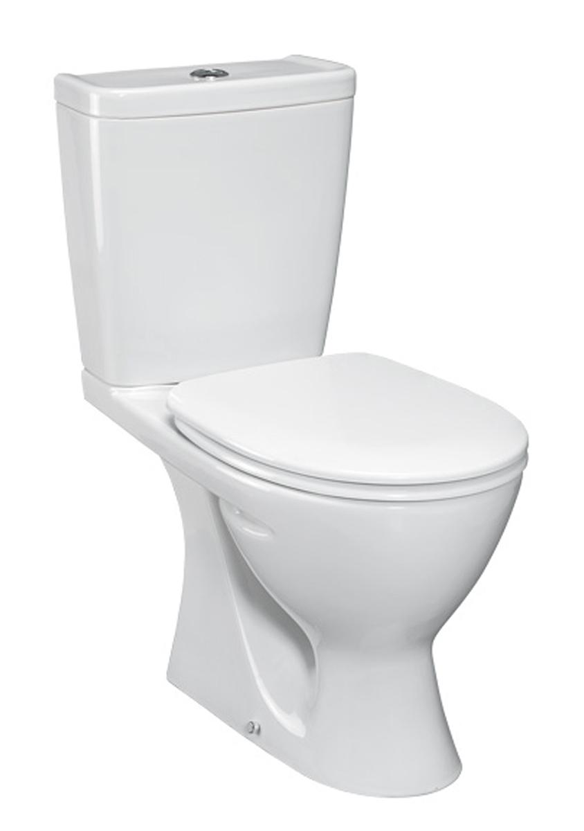 Унитаз Vidima СЕВА МИКС (BOX) (Seva Mix) W904761 напольный, сиденье с микролифтом, цвет - белый