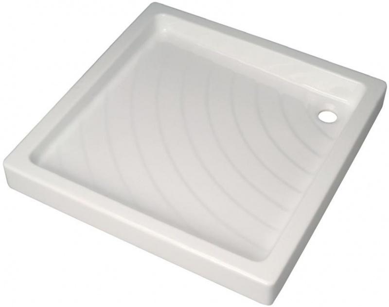 Поддон Vidima W833261 керамический, квадратный, 80*80 см