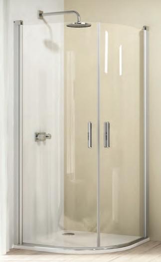 Душевой уголок Huppe Design elegance 8E1603 100*100 см