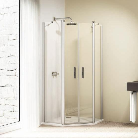 Душевой уголок Huppe Design elegance 8E1804 100*100 см