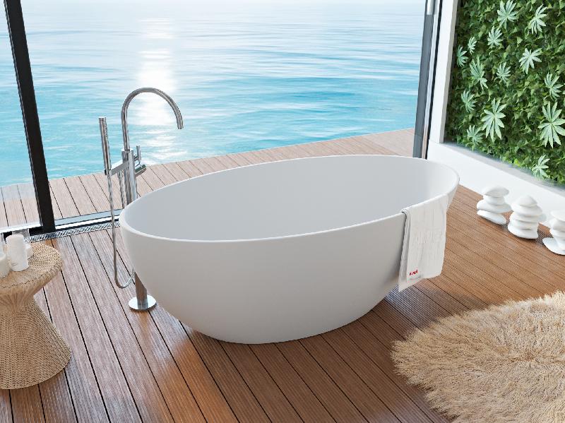 Ванна мраморная ALPEN VENECIA VEN-170M 160*85 см