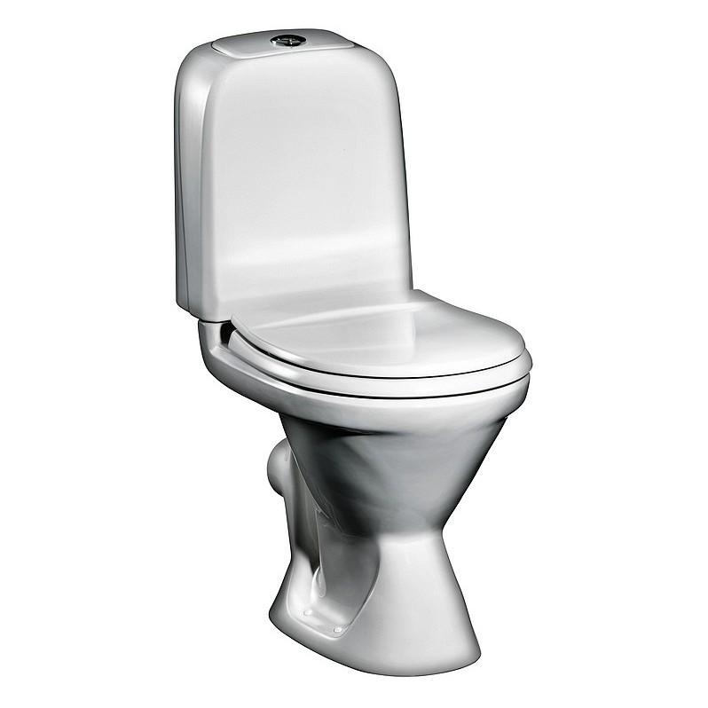 Унитаз Gustavsberg Basic 392 GB1039236105 двухрежимный смыв со стандартной крышкой-сиденьем