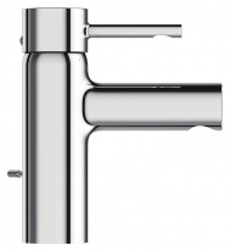 Смеситель Jacob Delafon Cuff E37041-CP для раковины с донным клапаном