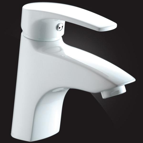 Смеситель Elghansa MONICA WHITE 1622319 для раковины, белый