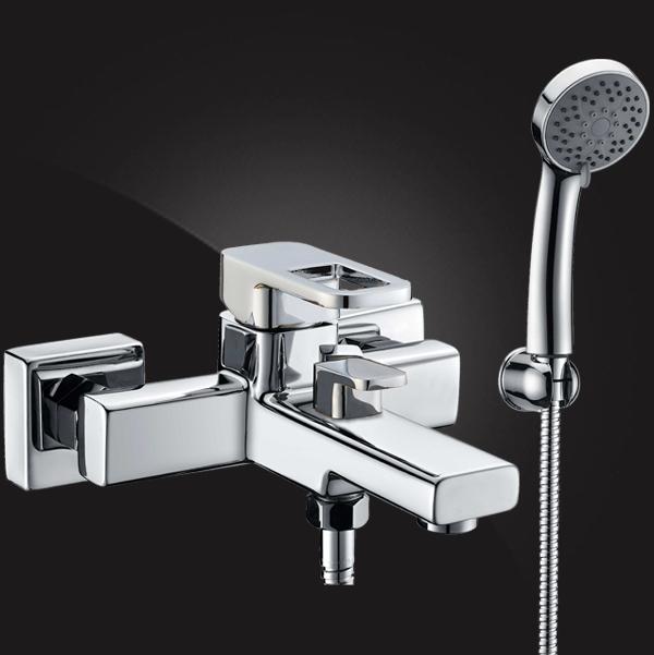 Смеситель Elghansa MONDSCHEIN NEW 2320233 для ванны с душевым комплектом
