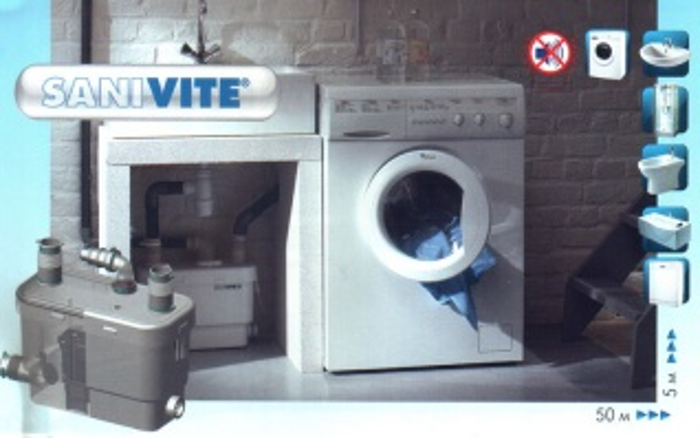 Водоотводящая установка SFA Sanivite S.Vite