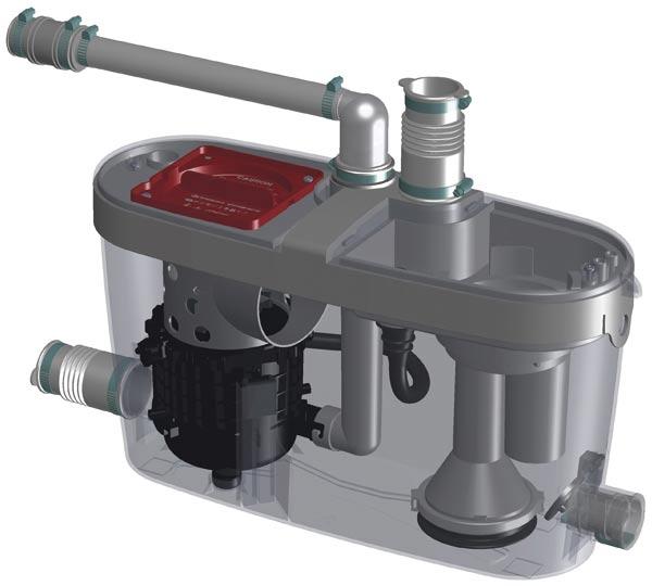 Водоотводящая установка SFA Saniaccess Pump S.Access Pump