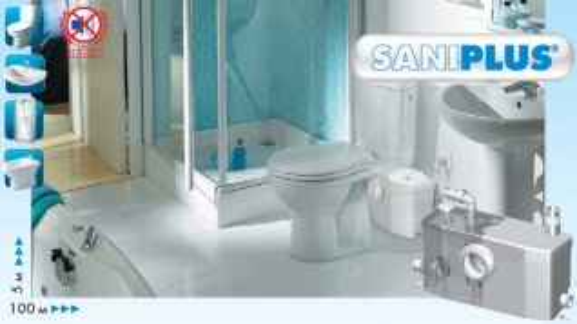 Канализационная установка SFA Saniplus S.Plus
