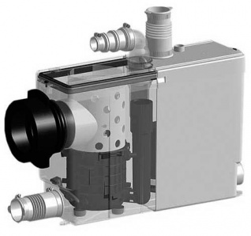 Канализационная установка SFA Sanipack S.Pack