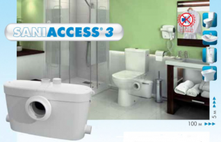 Канализационная установка SFA Saniaccess 3 S.Access 3