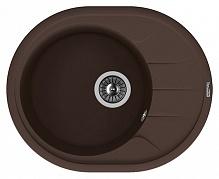 Мойка кухонная Florentina Родос 620 коричневый