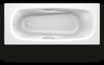 Ванна стальная BLB Anatomica HG B75L 170х75 см, с отв. для ручек, с шумоизоляцией