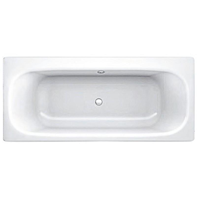 Ванна стальная BLB Universal Duo HG B70Q 170х70 см, с шумоизоляцией, асимметричная