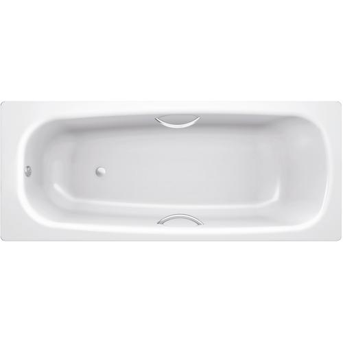 Ванна стальная BLB Universal HG B75H 170х75 см, с отв. для ручек, с шумоизоляцией