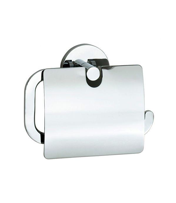 Держатель для туалетной бумаги с крышкой Smedbo Loft LK3414