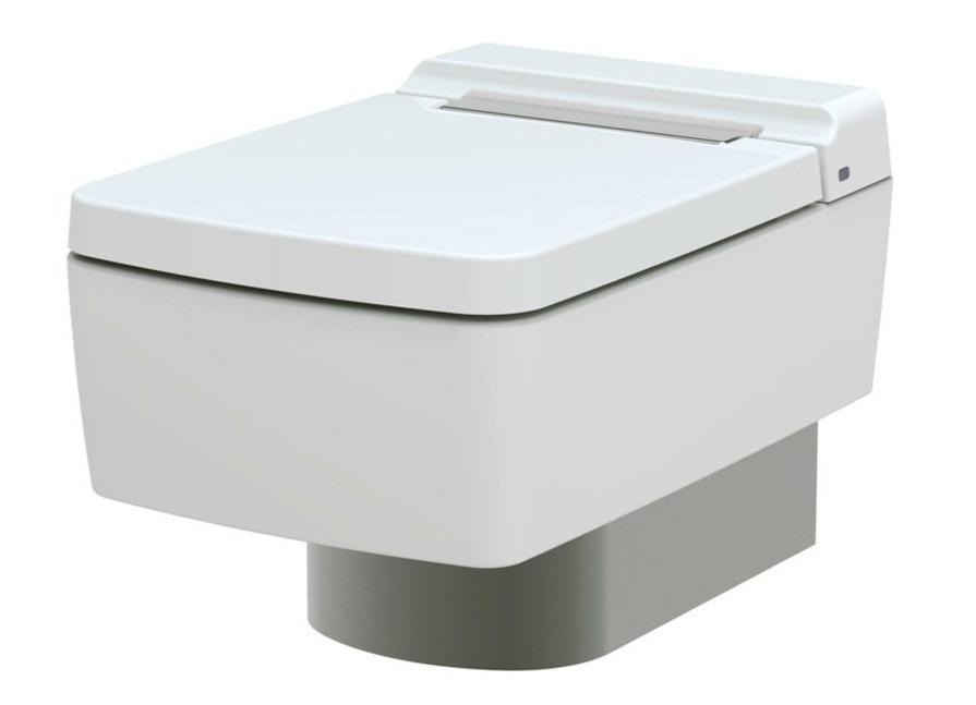 Унитаз подвесной Toto SG CW512YR+TC501CVK(+7EE0007), безободковый с крышкой - сиденьем микролифт