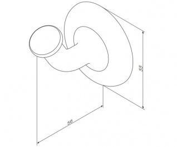 Крючок для полотенец Am.Pm Like A8035500