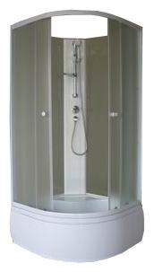 Душевой уголок Aqualux AQ-309GM 90x90 см