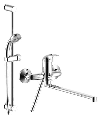 Душевой комплект  для ванны и душа Rossinka SET35-82, хром