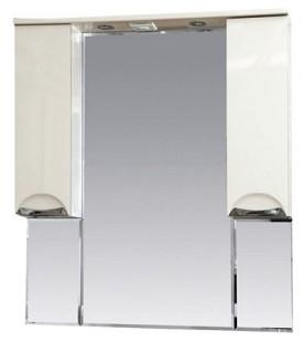 Зеркало-шкаф Misty Жасмин 95, эмаль