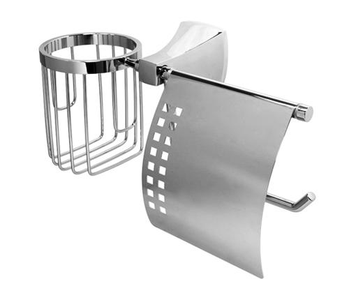 Держатель для туалетной бумаги и освежителя WasserKRAFT Wern K-2559