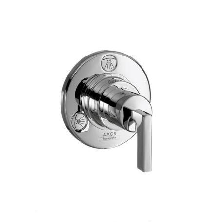 Запорный/переключающий вентиль Axor Citterio 39920000, с рычаговой рукояткой, СМ, ¾'