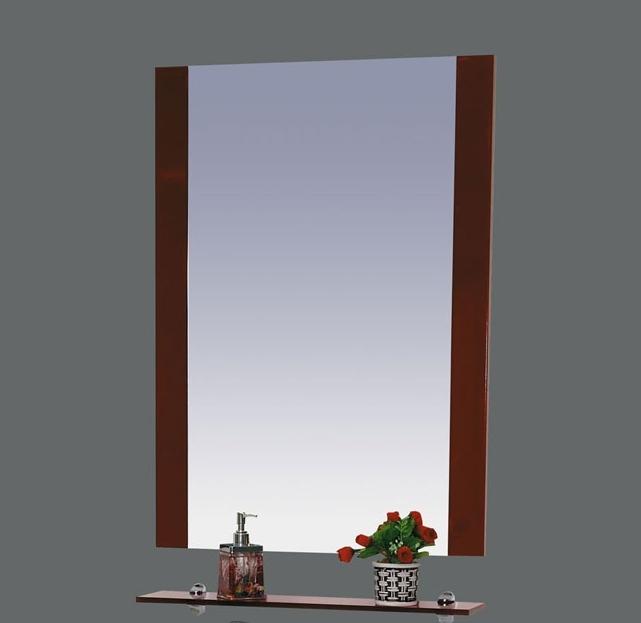 Зеркало Misty Эмилия 60 с полочкой