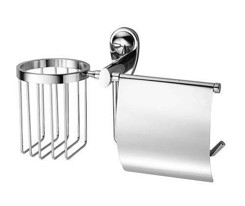 Держатель для туалетной бумаги и освежителя WasserKRAFT Main K-9259