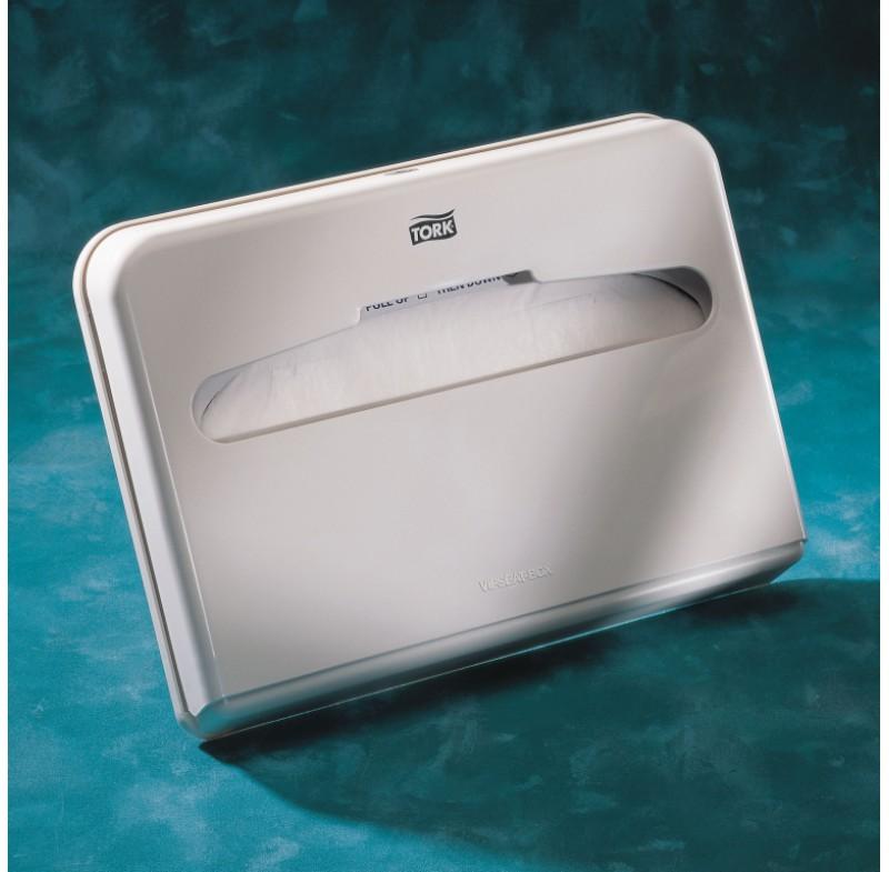 Диспенсер для бумажных покрытий на унитаз Tork Elevation 344080-60, белый