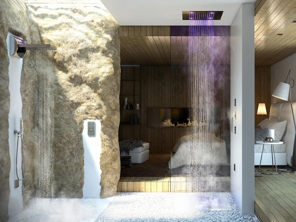Верхний душ Bossini Dream-2H38926.030, хром