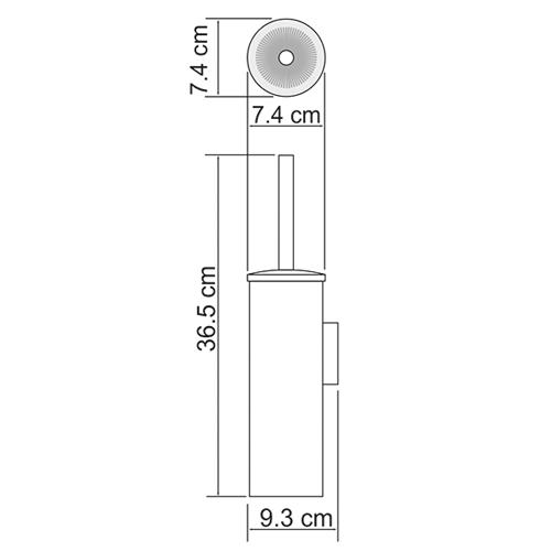 Ершик подвесной WasserKRAFT K-1087