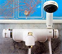 Смеситель для ванны с термостатом GROHE